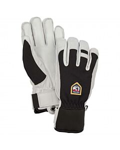 HESTRA - Army Leather Patrol-5 finger - zwart