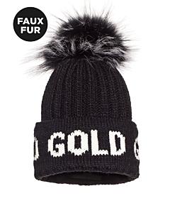 GOLDBERGH - Hodd - zwart combi