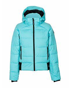 BRUNOTTI - suncrown girls snowjackets - Mintgroen-Blauw