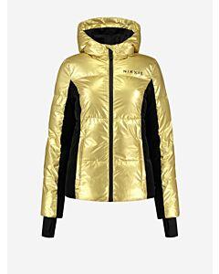 NIKKIE - Nikkie Golden Ski Jacket - goud