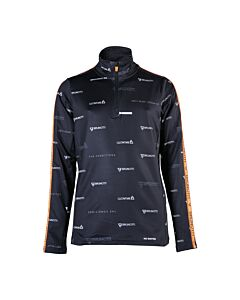 BRUNOTTI - avocet-jr boys fleece - Zwart