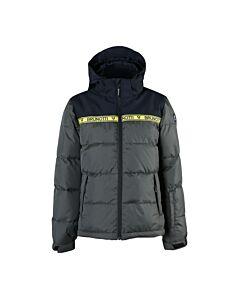 BRUNOTTI - rolf-jr boys snowjacket - Black/Black/White