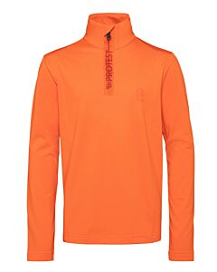 PROTEST - willowy jr 1/4 zip top - Oranje