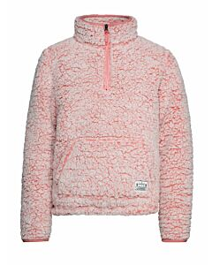 PROTEST - demi jr 1/4 zip top - Roze-Multicolour