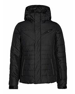 PROTEST - yari snowjacket - Zwart-Multicolour