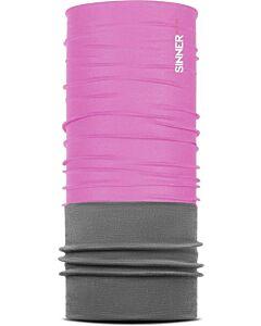 SINNER - fleece bandana - Roze-Multicolour