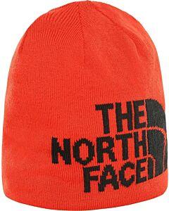 THE NORTH FACE - highline beanie - Rood